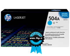 HP 504A Cyan Original LaserJet Toner Cartridge CE251A